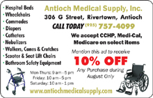Antioch Medical Supply 8-15