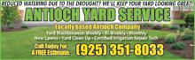 Antioch Yard Service