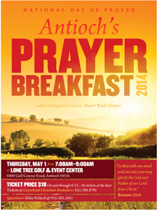 Antioch Prayer Breakfast