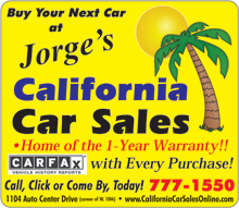 California Car Sales