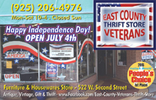 East County Vets Thrift Store