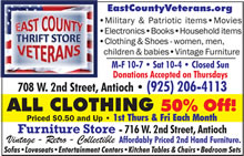 East County Veterans Thrift Store