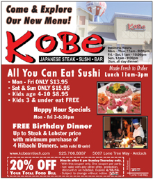 Kobe Antioch Japanese Steakhouse