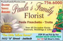 Paula's Family Florist