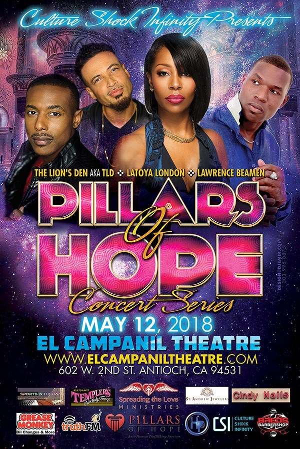 Pillars of Hope Concert May 12th