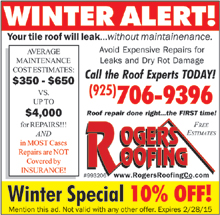 Roger's Roofing