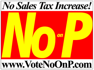 No on Measure P