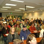 An estimated 150 people attended the first meeting of Take Back Antioch.