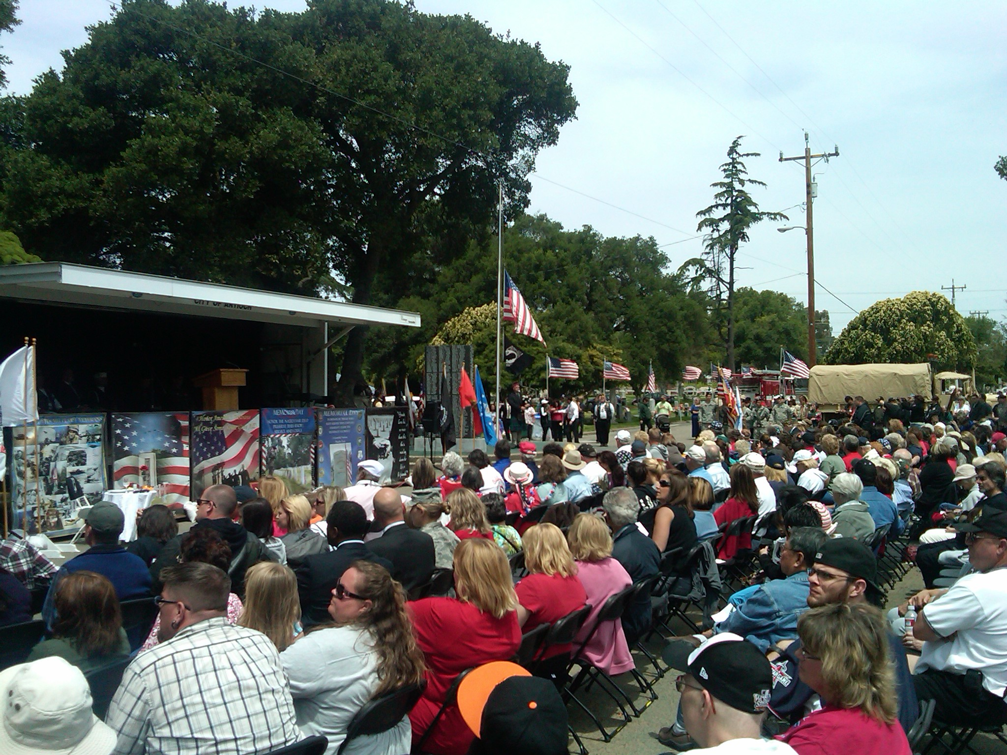 600 gather for Antiochs 2011 Memorial Day ceremonies Antioch Celebrates Memorial Day with Thunder