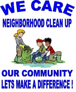 Cleanup Logo 247x300 Next Neighborhood Cleanup at Knoll Park