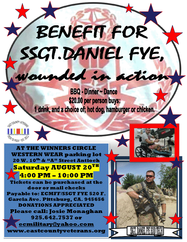 benefit flyer Benefit for Wounded Airmen