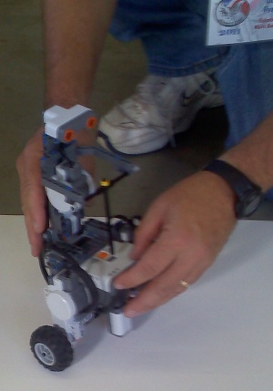 Robot Robots Take Center Stage at Boy Scouts AdvanceCamp