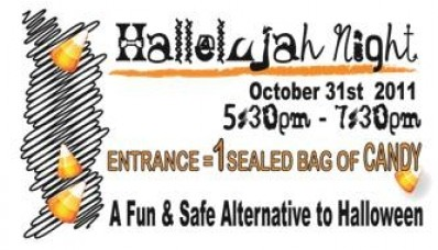 Hallelujah Night Activities http://antiochherald.com/2011/10/churches-to-host-safe-alternative-halloween-events/