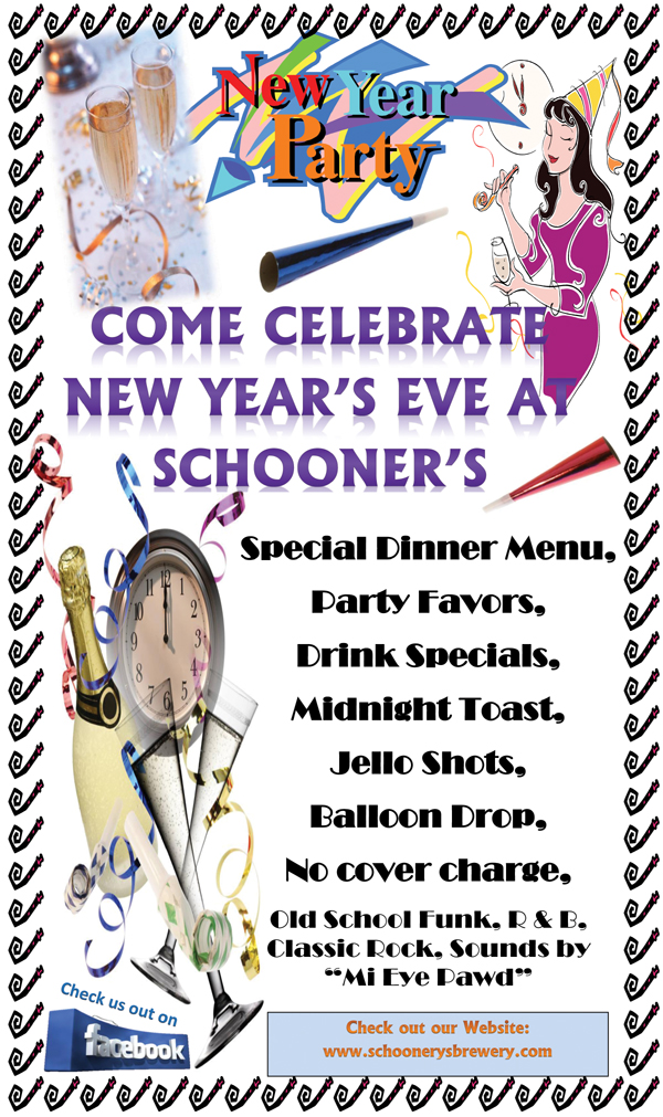 Schooners new years 2011 New Years Eve Events in Antioch