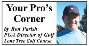 Ron Parish golf column 300x158 Golf Column: How's Your Belly Button?