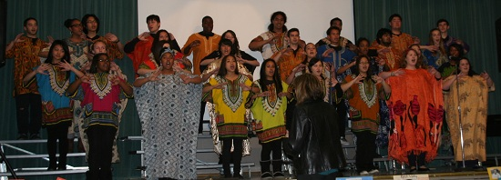 Divine Voices and Show Choir First Class, Captivating Black History Celebration