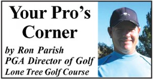 Your Pros Corner 300x155 Golf Column: Improve Your Fairway Wedge by Adding Acceleration and Hitting the Ball Crisply