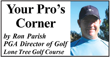 "Your Pros Corner Your Pro's Corner: Want to score better?  ""Keep the target in your minds eye"""