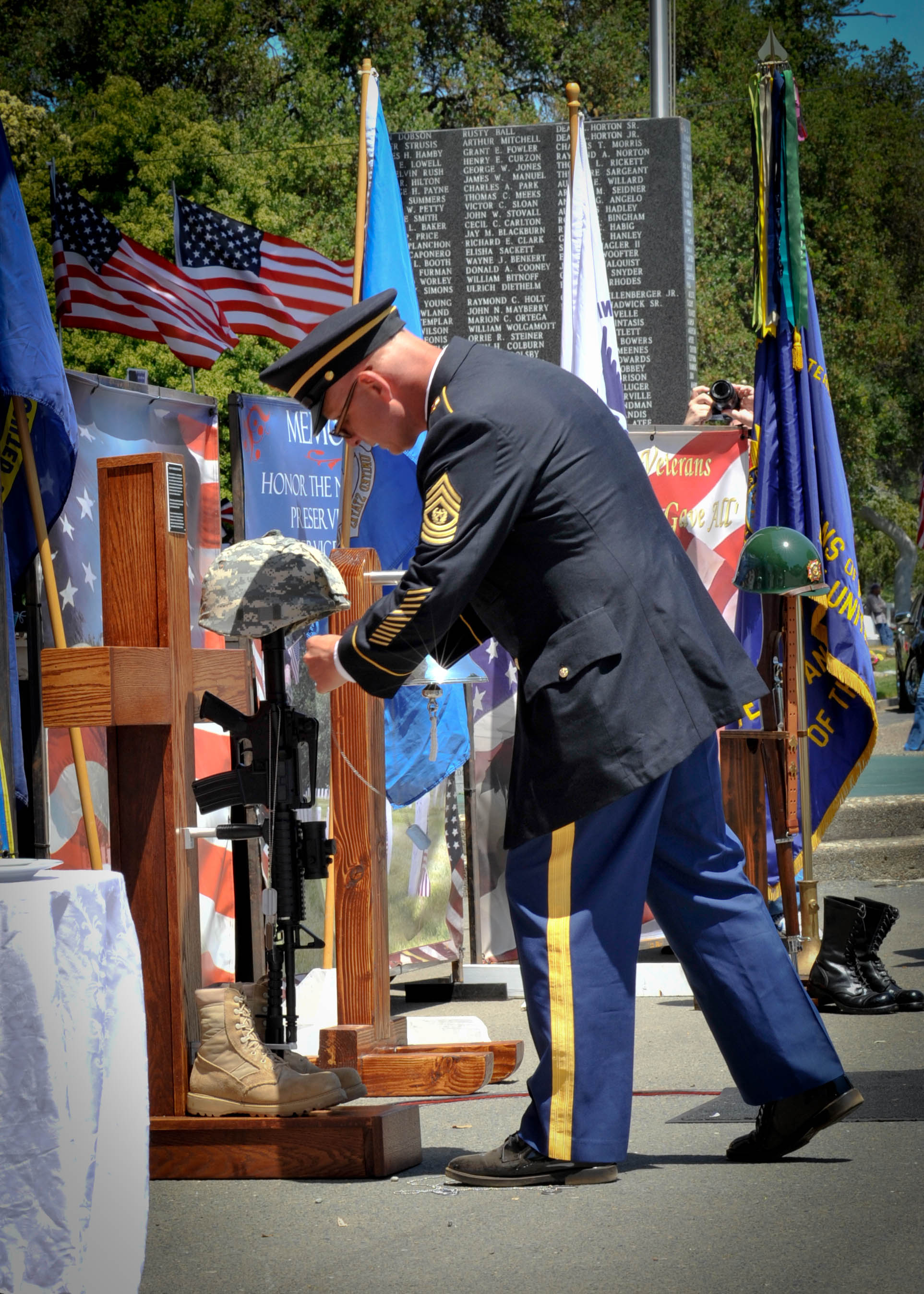 Remembering the fallen Hundreds Attend Antioch Memorial Day Ceremony
