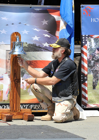 Ringing of the bell Hundreds Attend Antioch Memorial Day Ceremony