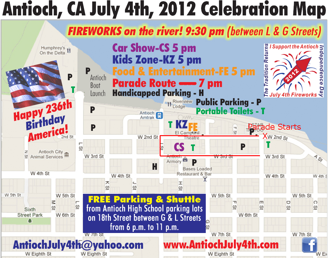 Antioch Car Show Today