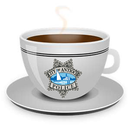 Coffee with the Cops logo Coffee with the Cops July 28