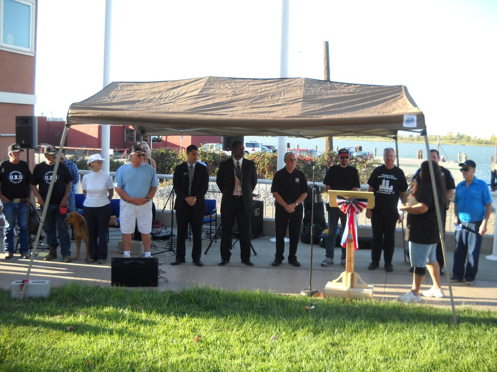 Veterans in attendance honored 1 1024x768 Antioch Residents, Officials Gather to Remember 9 11