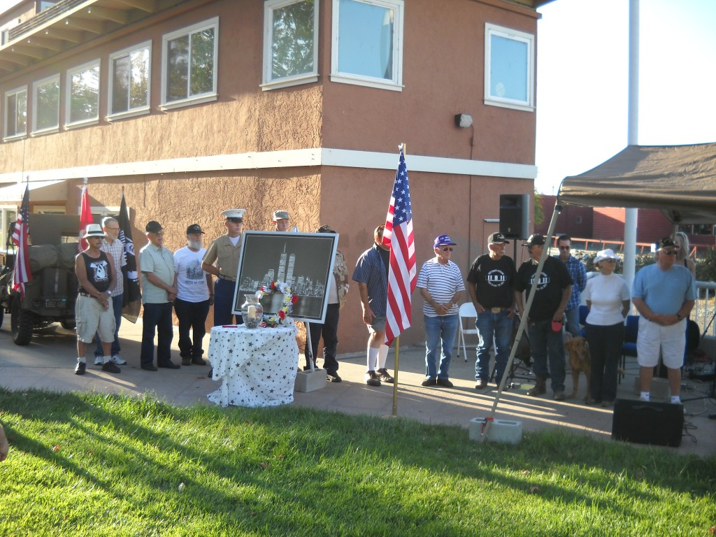 Veterans in attendance honored 2 1024x768 Antioch Residents, Officials Gather to Remember 9 11
