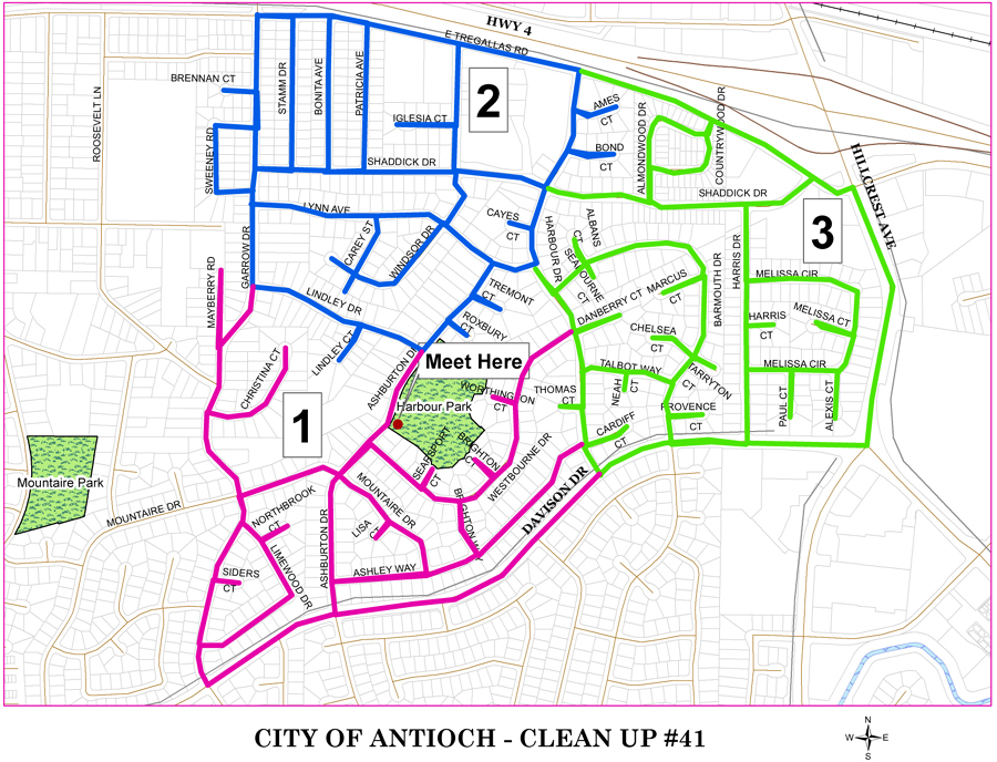 CityCleanUp41 Antioch Neighborhood Cleanup this Saturday, January 5