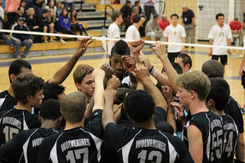 DV Boys Volleyball team 1024x682 DV boys volleyball team falls one win shy of NorCal throne