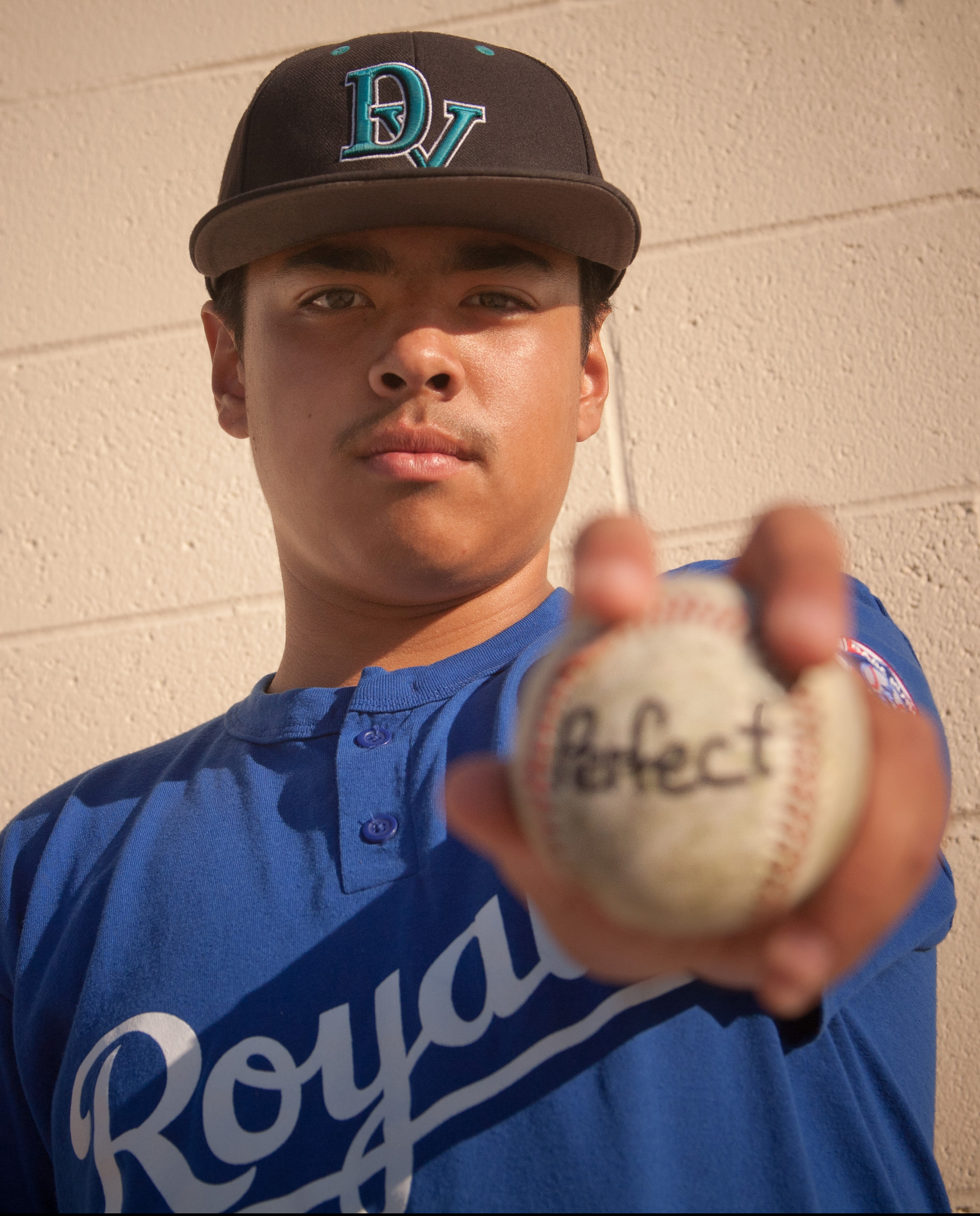 Ray White Deer Valley's Ray White throws schools first perfect game
