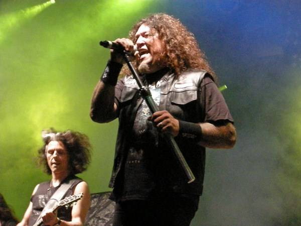 Chuck Billy Native American Encyclopedia Assemblyman Jim Frazier honors Antiochs Chuck Billy of thrash metal band Testament
