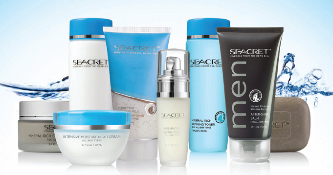 seacret salons products Seacret offers natural skin care from the Dead Sea and income opportunity