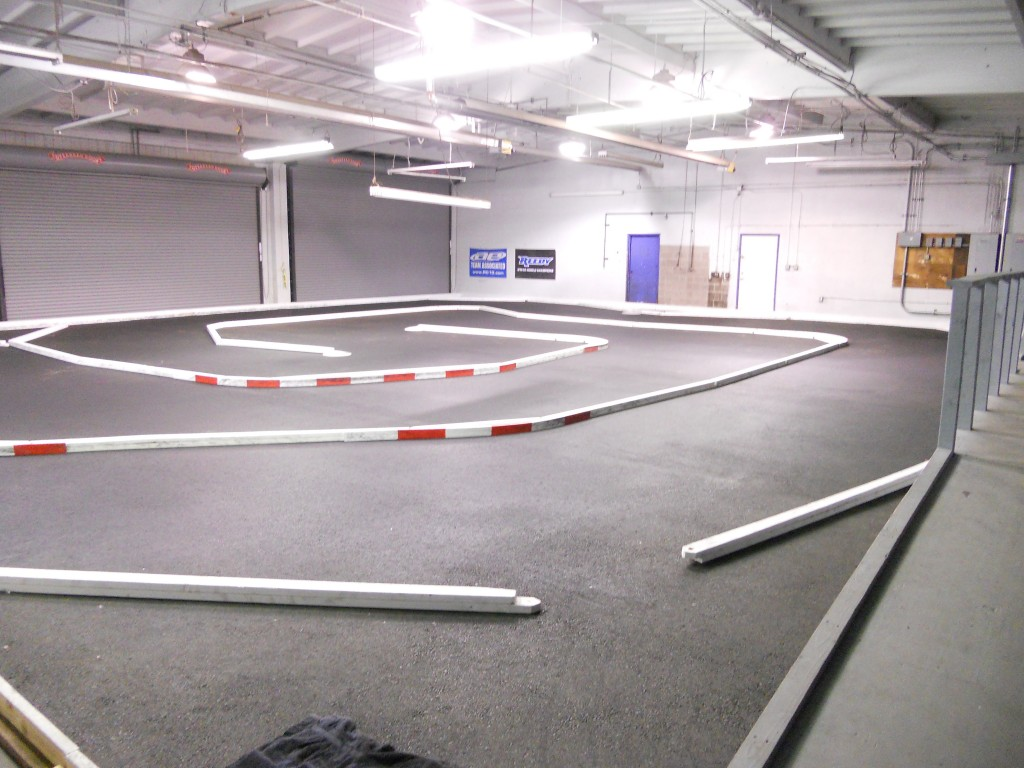 Delta RC's new indoor track.