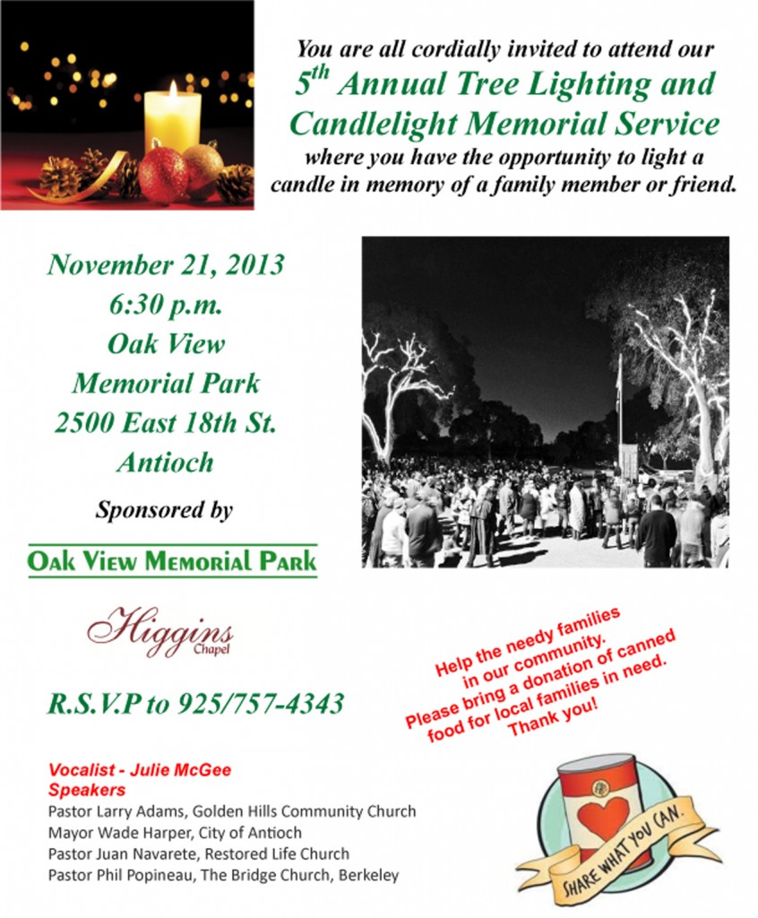 2013 Candlelight Service