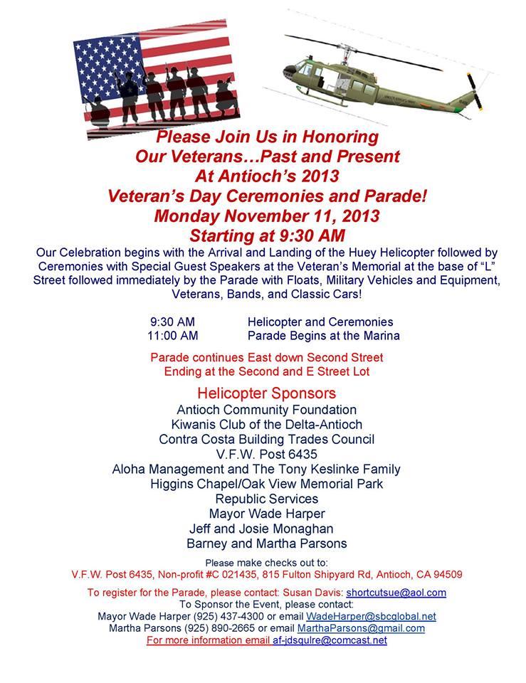 2013 Veterans Day