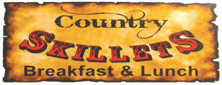 Country Skillets logo Country Skillets' three brothers celebrate their third anniversary with special $3 burger deal