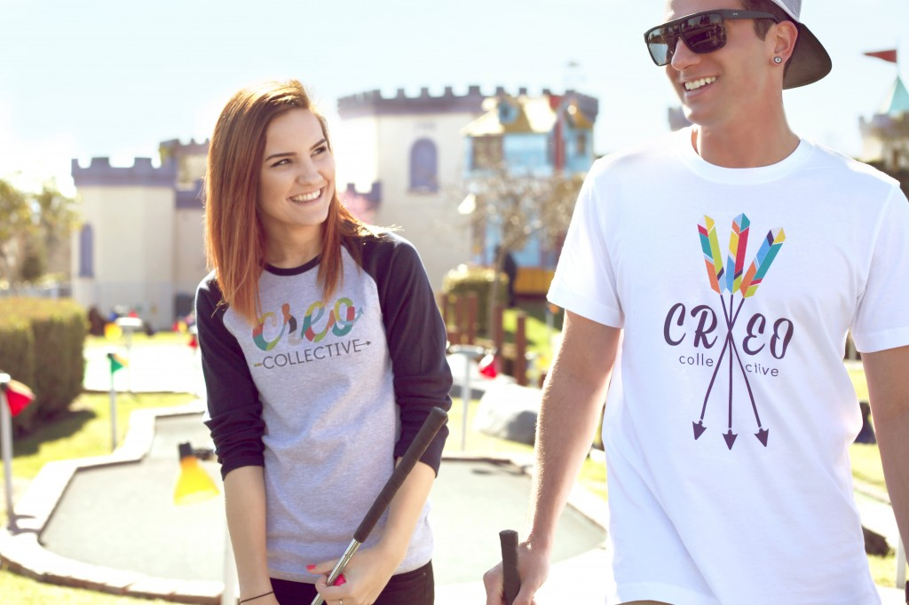 Creo Collective arrow shirts 1024x682 East County friends start new line of clothing