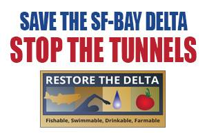 Stop the Tunnels1 U.S. Interior Secretary to be in Byron on Tuesday, Stop the Tunnels rally planned