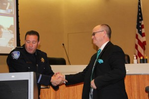 Reserve Officer Chris Ming retired after more than 29 years with the Antioch Police Department.