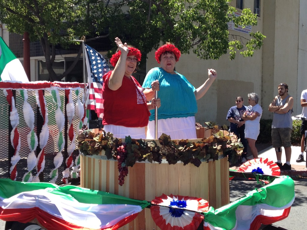 Sons of Italy float