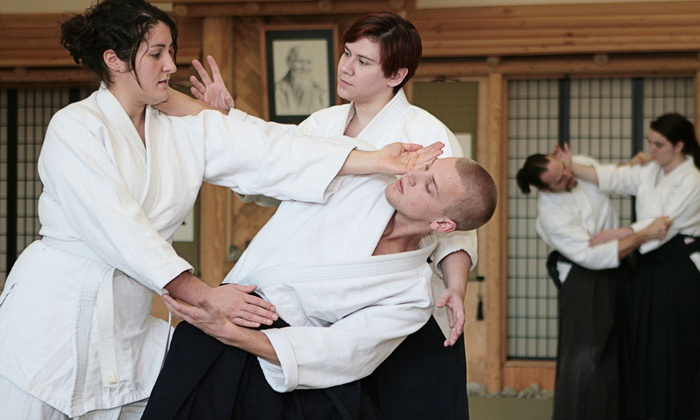 Aikido is a non-violent form of martial arts.