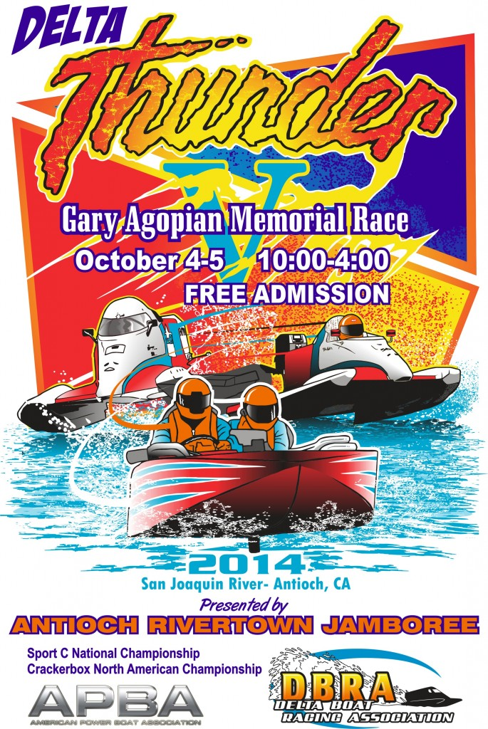 Delta Thunder V 685x1024 Antioch to host Delta Thunder V boat races October 4th and 5th
