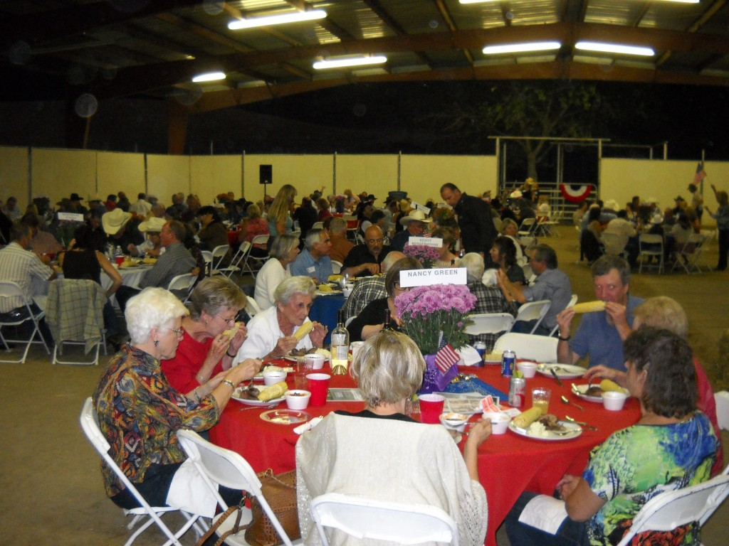 Guests enjoy the steak dinner 1024x768 Delta Advocacy Foundation to host Roddy Roundup Saturday, Sept. 27