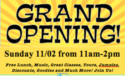 Grand Opening art Evolve Aikido & Movement Center and neighboring businesses to host Grand Opening & Block Party on Sunday