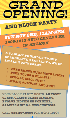 Grand Opening Evolve Aikido & Movement Center and neighboring businesses to host Grand Opening & Block Party on Sunday
