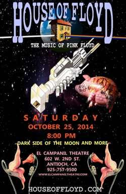 House of Floyd At El Campanil Theatre in October