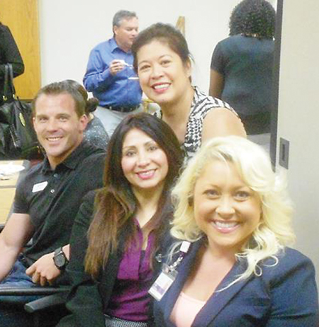 Kelly with Dominick Amber and Marie at Sutter Delta Antioch businesswoman starts senior care services company