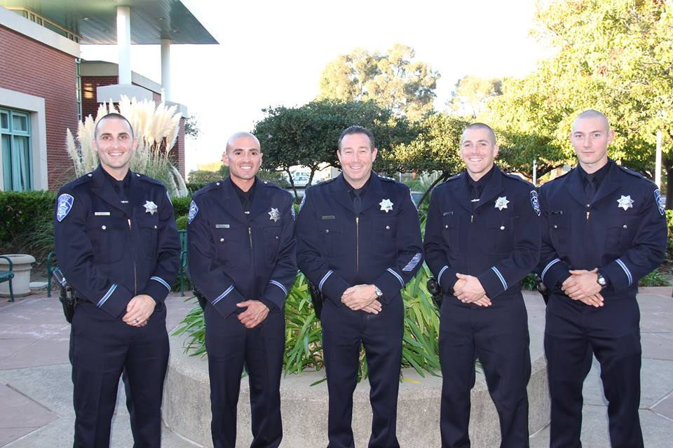 Antioch new police officers Antioch welcomes four new police officers