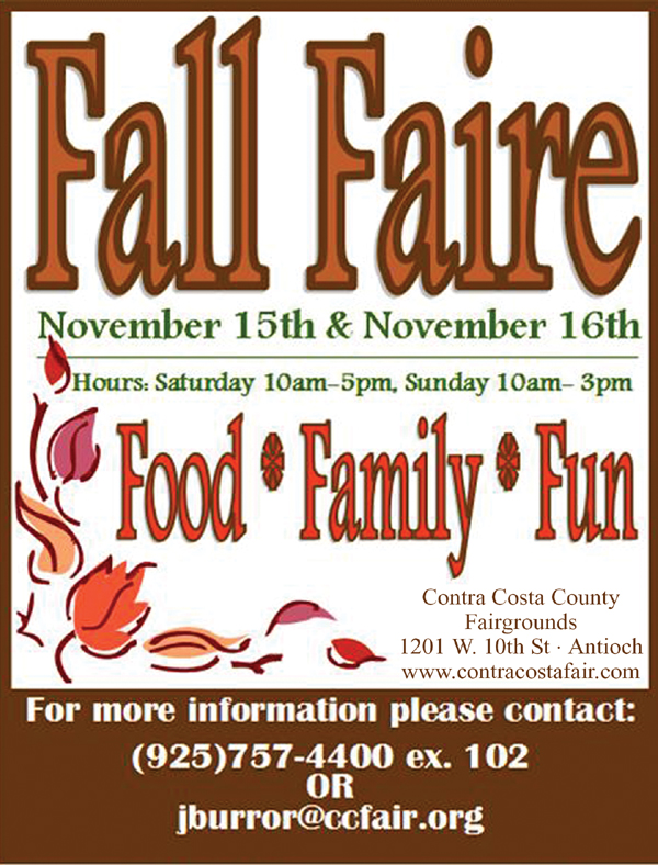 Fall Faire Fall Faire at County Fairgrounds, this weekend